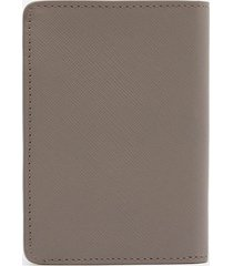 a.p.c. men's stefan wallet - grey