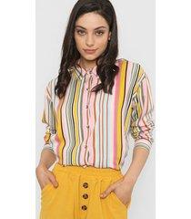 camisa fucsia nano india