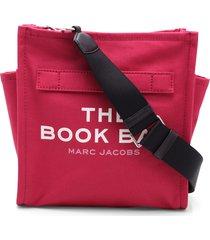 marc jacobs the book bag cotton shoulder bag