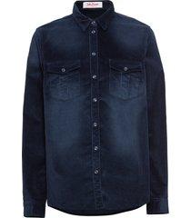 camicetta in velluto (blu) - john baner jeanswear