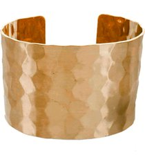 women's panacea hammered cuff bracelet