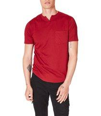 men's good man brand premium cotton t-shirt, size x-large - red