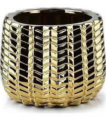 kwietnik osłonka ceramiczna golden line