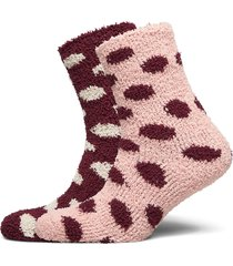 2p cosy dot sock lingerie socks regular socks rosa hunkemöller
