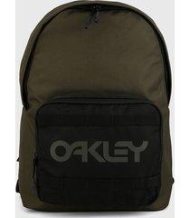 morral  verde-negro oakley all times back pack