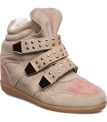 shoe shoes boots ankle boots ankle boots flat heel beige sofie schnoor