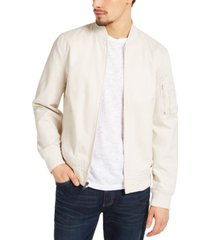 sun + stone men's solid mace bomber jacket, created for macy's