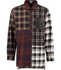 loewe checked cotton shirt