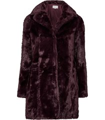 fuskpäls visofta faux fur coat