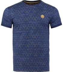 t-shirt navy printed