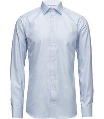 harrogate-collection-slim fit overhemd business blauw eton