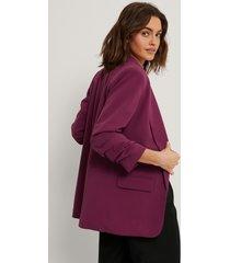na-kd classic blazer med detaljer - purple