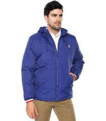 chaqueta azul-blanco us polo assn