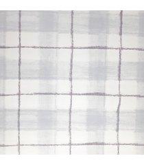 kit 2 rolos de papel de parede fwb pintura rãºstica azul branco e roxo - azul/branco/roxo - dafiti