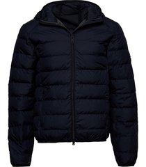 asp jacket man fodrad jacka blå ecoalf