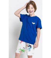 pijama e camisola acuo pijama e camisola branco - branco - menino - dafiti