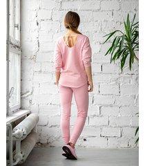 bluzka z wiązaniem pink