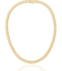 18k yellow gold zoe necklace