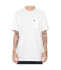 camiseta element minimal pocket masculina