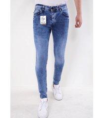 true rise jeans slim fit licht