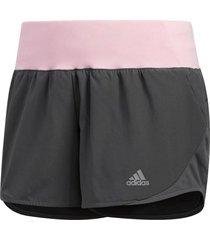 shorts running adidas run it mujer gris