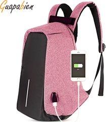 mochila/ multifunción bolsa al aire libre portátil-rosa