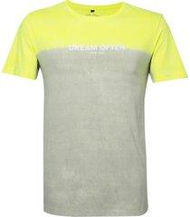 camiseta john john rx dream often malha amarelo masculina (amarelo claro, gg)