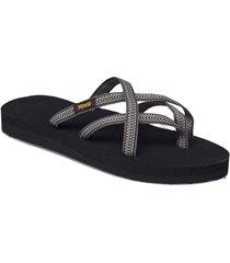 w olowahu shoes summer shoes flat sandals blå teva