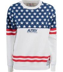 autry stars printed sweatshirt