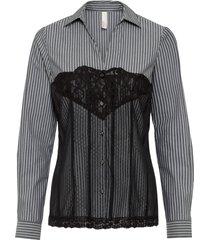 camicetta stile corsetto (nero) - bodyflirt boutique