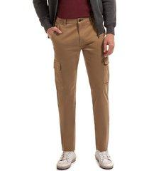 pantalón clásico cargo beige ferouch