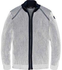 zip jacket plated