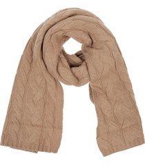 beige wool scarf