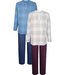 pyjamas roger kent blå::aubergine