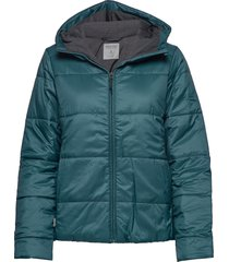 wmns collingwood hooded jacket fodrad jacka blå icebreaker