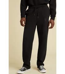 spodnie z logo fason jogging