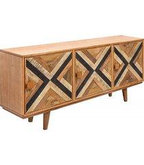 komoda drewniana kolorowa 160cm