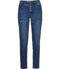 jeans boyfriend ultra elasticizzati alla caviglia (blu) - john baner jeanswear