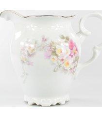 leiteira porcelana schmidt - dec. vitã³ria - multicolorido - dafiti