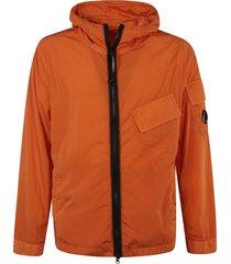 c.p. company classic zip hooded jacket