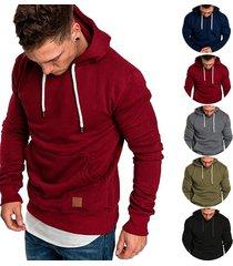 revenge hoodies hombre sudaderas rapper hip hop hooded pullover-rojo