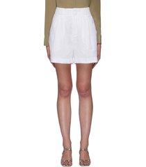 boyde linen shorts