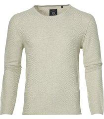 lerros pullover - modern fit - beige