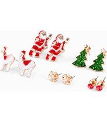 orecchini a lobo (set 10 pezzi) (rosso) - bpc bonprix collection