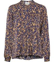 spirit blouse blouse lange mouwen blauw second female
