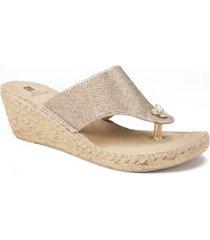 white mountain beachball women's wedge sandals women's shoes