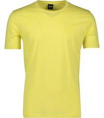 hugo boss t-shirt lecco geel