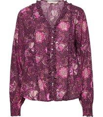 doreen blouse blouse lange mouwen paars odd molly
