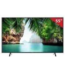 smart tv led 55 tc-55gx500b panasonic, 4k hdmi usb com wi-fi integrado