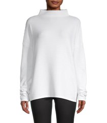 french connection women's babysoft lena funnelneck pullover - black - size xs